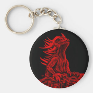 Little red Dragon Keychains