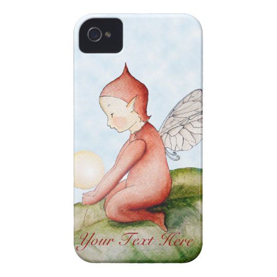 Little Red Elf iPhone 4 Case