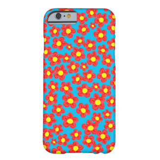Little Red Flowers, Barely There iPhone 6 Case
