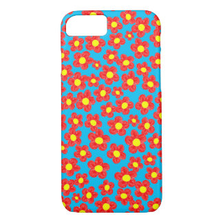 Little Red Flowers, Barely There iPhone 7 Case