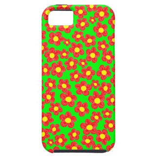 Little Red Flowers, Tough iPhone 5/5S Case