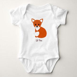 Little Red Fox Baby Bodysuit