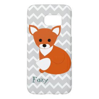 Little Red Fox Design Samsung Galaxy S7 Case
