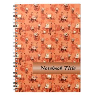 Little Red Fox Journal Notebook