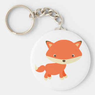 Little red fox keychain