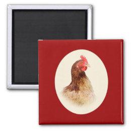 Little Red Hen Magnet