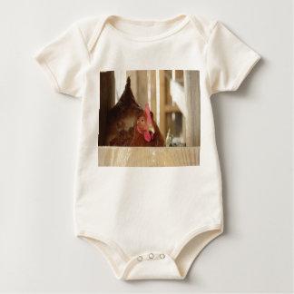 Little red hen organic baby shirt