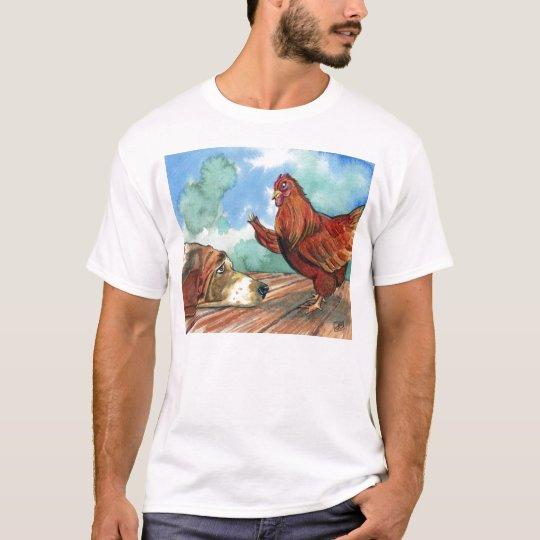 454289d2 Little Red Hen T-Shirt   Zazzle.com