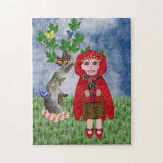 Little Red Jigsaw Puzzle