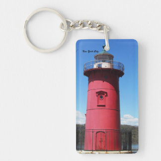 LITTLE RED LIGHTHOUSE KEY CHAIN