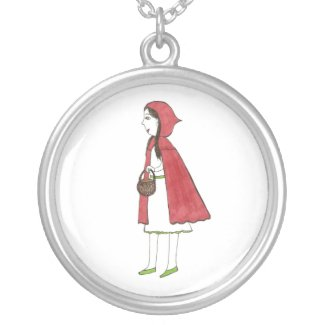 Little Red Ridding Hood necklace