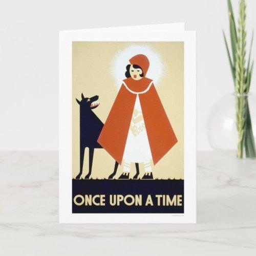 Little Red Riding Hood 1937 WPA