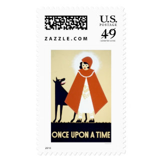 Little Red Riding Hood 1937 WPA Postage