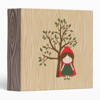 Little Red Riding Hood 3 Ring Binder