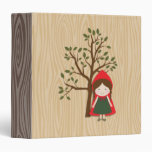 Little Red Riding Hood 3 Ring Binders