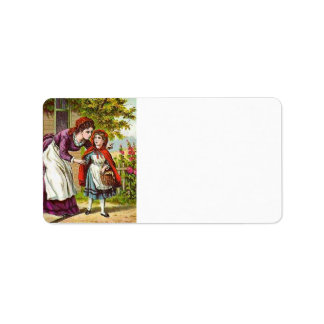 Little Red Riding Hood Address Labels