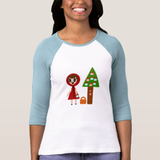 Little Red Riding Hood and the Cupcake Tree T Shirts
