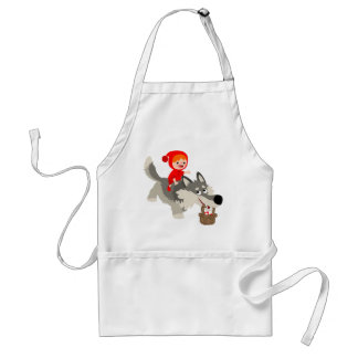 Little Red Riding Hood and The Wolf Apron