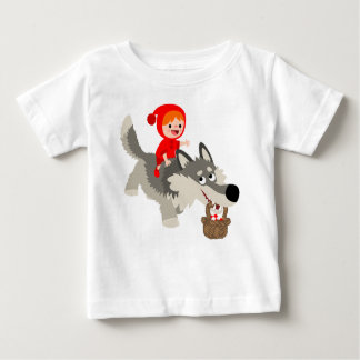 Little Red Riding Hood And The Wolf Baby T-Shirt