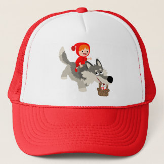 Little Red Riding Hood and The Wolf Hat