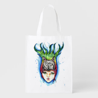 Little Red Riding Hood and the Wolf Market Totes