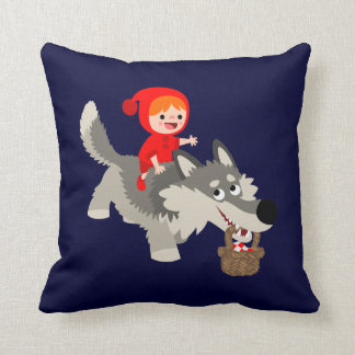 Little Red Riding Hood and The Wolf Pillow