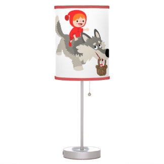 Little Red Riding Hood and The Wolf Table Lamp