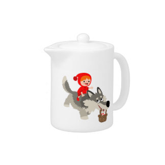 Little Red Riding Hood and The Wolf Teapot