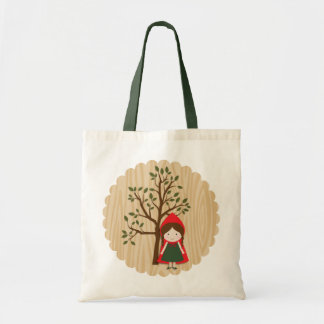 Little Red Riding Hood Budget Tote Bag