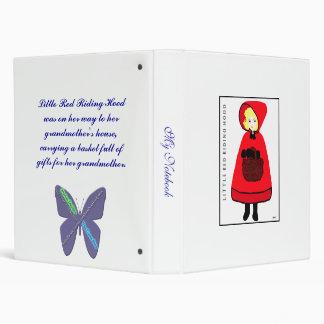 Little Red Riding Hood Binder