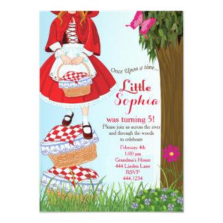 Little Red Riding Hood Birthday Invitations