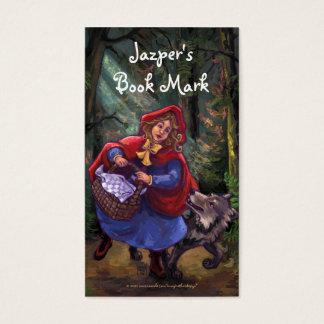 Little Red Riding Hood Book Mark Business Card