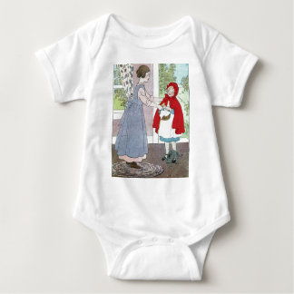 Little Red Riding Hood: Bring This To Grandma Baby Bodysuit