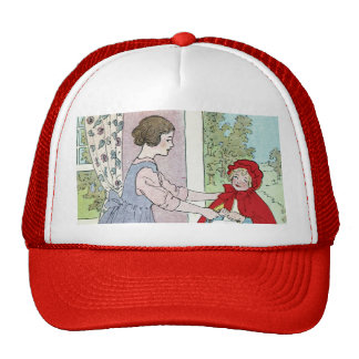 Little Red Riding Hood: Bring This To Grandma Trucker Hats