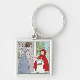 Little Red Riding Hood: Bring This To Grandma Keychain