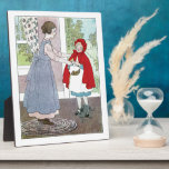Little Red Riding Hood: Bring This To Grandma Plaques