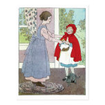Little Red Riding Hood: Bring This To Grandma Post Card