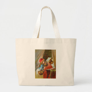 Little Red Riding Hood by Carl Offterdinger Tote Bag