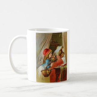 Little Red Riding Hood by Carl Offterdinger Coffee Mug