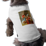 Little Red Riding Hood by Carl Offterdinger Dog Tshirt