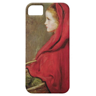 Little Red Riding Hood by John Everett Millais iPhone 5 Covers