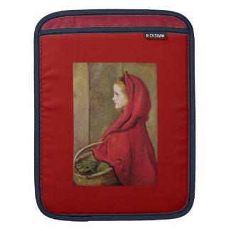 Little Red Riding Hood by John Everett Millais Sleeve For iPads