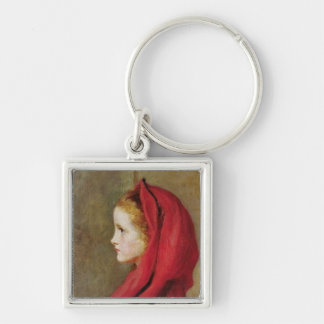 Little Red Riding Hood by John Everett Millais Keychain