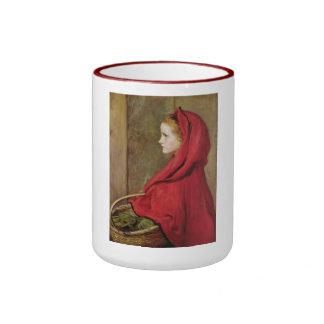 Little Red Riding Hood by John Everett Millais Mug
