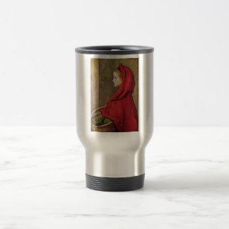 Little Red Riding Hood  by John Everett Millais Coffee Mugs
