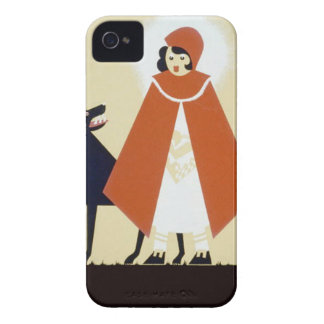 Little Red Riding Hood iPhone 4 Cases