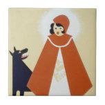Little Red Riding Hood Ceramic Tiles