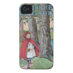 Little red riding hood classic book cover print iPhone 4 Case-Mate cases