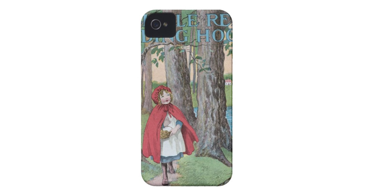 Classic Book Cover Phone Cases : Little red riding hood classic book cover print iphone