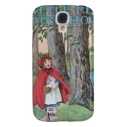 Little red riding hood classic book cover print samsung galaxy s4 covers